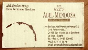 Bodega Abel Mendoza – Espagne – Rioja – Visite du 3 juin 2011