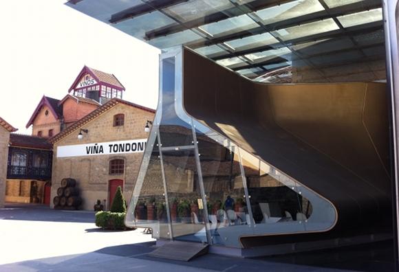 Blog Vin - Bodega Lopez de Heredia - zaha hadid 1