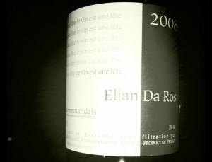 Elian Da Ros – Le Vin Est Une Fête – 2008 – Cotes du Marmandais