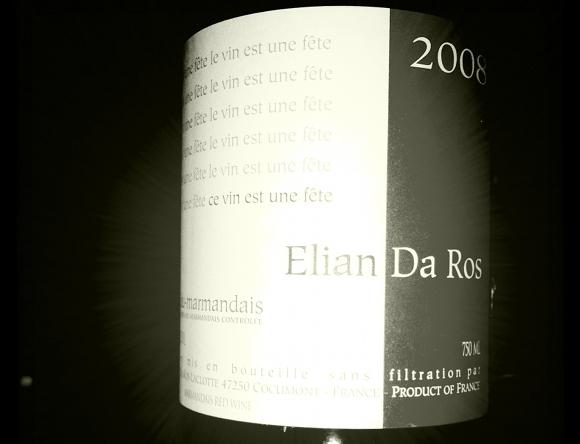 Blog Vin - Elian Da Ros - Le vin est une fête - 2008 - Marmandais
