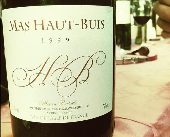Blog Vin - Mas Haut Buis - Costa Caoude 1999
