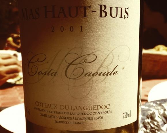 Blog Vin - Mas Haut Buis - Costa Caoude 2001