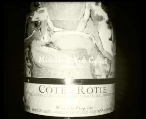 Gangloff – La Sereine Noire – 2007 – Côte Rotie