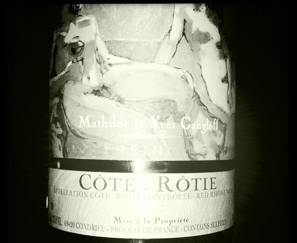 Blog Vin - Yves Gangloff - Sereine Noire - 2007 - Cote rotie
