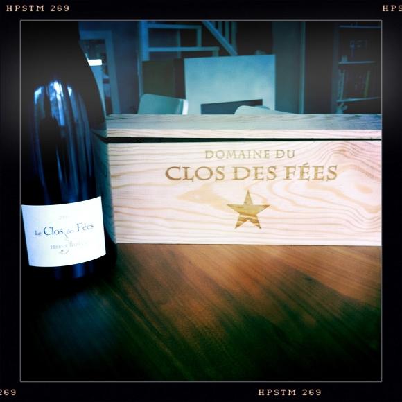 Blog vin - 50eme post - remerciements - magnum clos des Fées - 2009