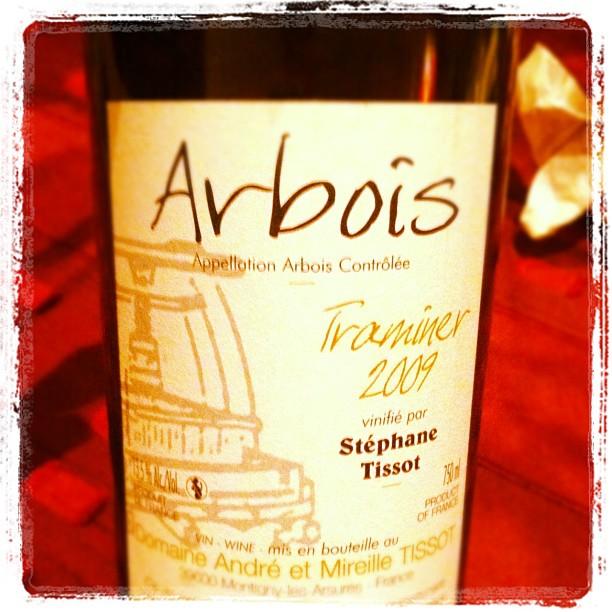 Blog vin - Andre et mireille Tissot - Arbois - Traminer - 2009
