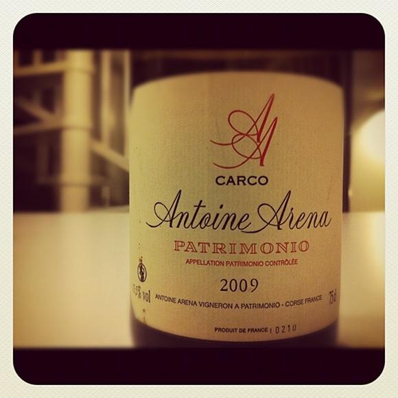 Blog vin - Antoine Arena - Carco - Blanc - 2009 - Patrimonio - Corse