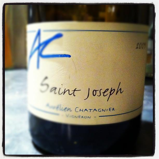 Blog vin - Aurelien Chatagnier - Saint Joseph - 2009 - Rhone