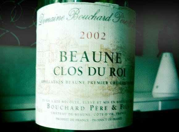 Blog vin - Bouchard pere et fils - beaune 1er cru - clos du roi - 2002