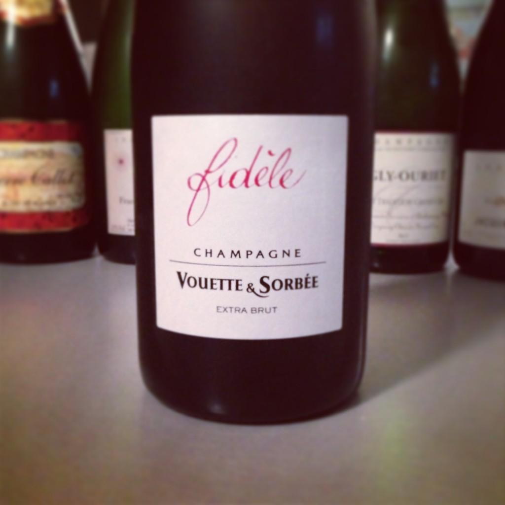 Blog vin - Champagne - Vouette et Sorbée - Fidèle - Extra Brut
