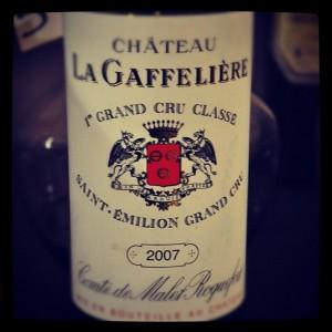 Château La Gaffelière – 2007 – Saint Emilion Grand Cru – Grand Cru Classé B – Bordeaux