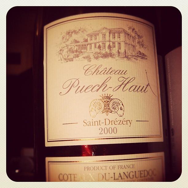 Blog vin - Chateau Puech Haut - 2000 - Coteaux du Languedoc