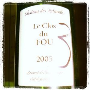 Blog vin – Chateau des Estanilles – Clos du Fou – 2005 – Faugères – Languedoc