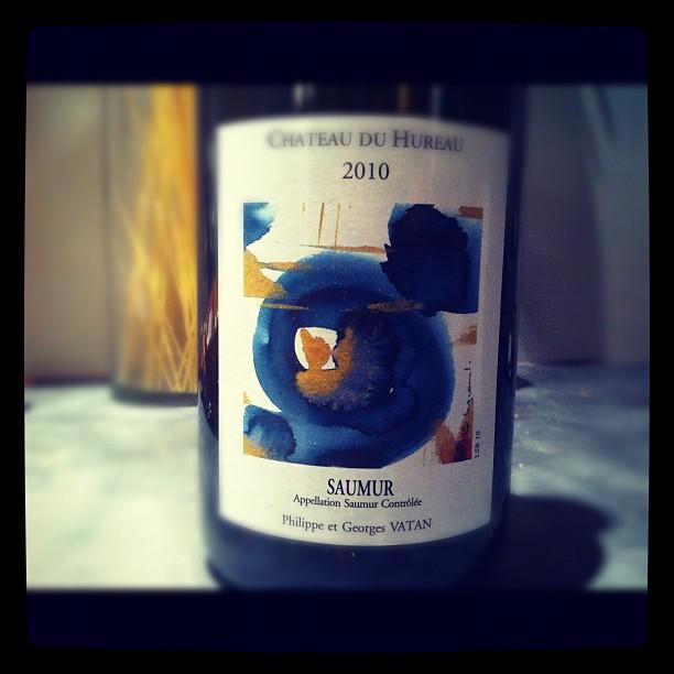 Blog vin - Chateau du Hureau - Saumur blanc - 2010 - Loire