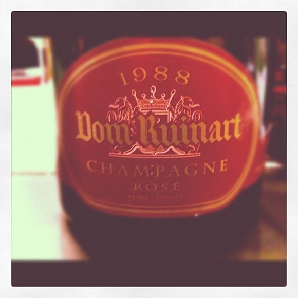 Blog vin - Dom Ruinart - Rosé - 1988 - Champagne