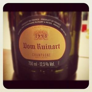 Dom Ruinart – Champagne rosé – 1998