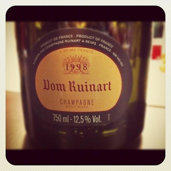 Blog vin - Dom Ruinart - Rosé - 1998 - Champagne