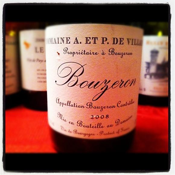 Blog vin - Domaine A et P de Villaine - Bouzeron - 2008