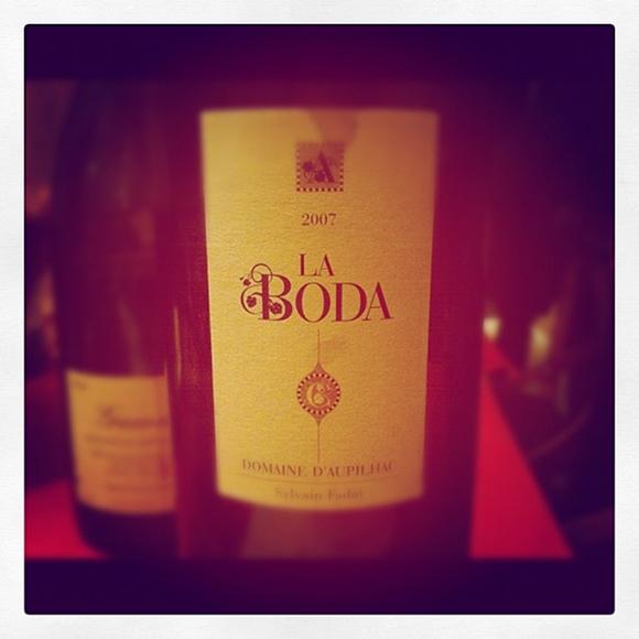Blog vin - Domaine Aupilhac - Montpeyroux - La Boda - 2007