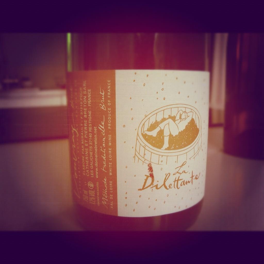 Blog vin - Domaine Breton - La Dilettante - Effervescent - Loire