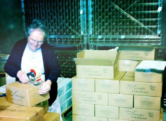 Blog vin - Domaine Camin Larredya - Jurançon - stockage