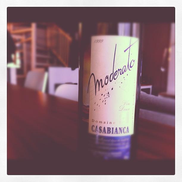 Blog vin - Domaine Casabianca - Moderato - Vin Doux - 1999 - VDP Ile de beauté