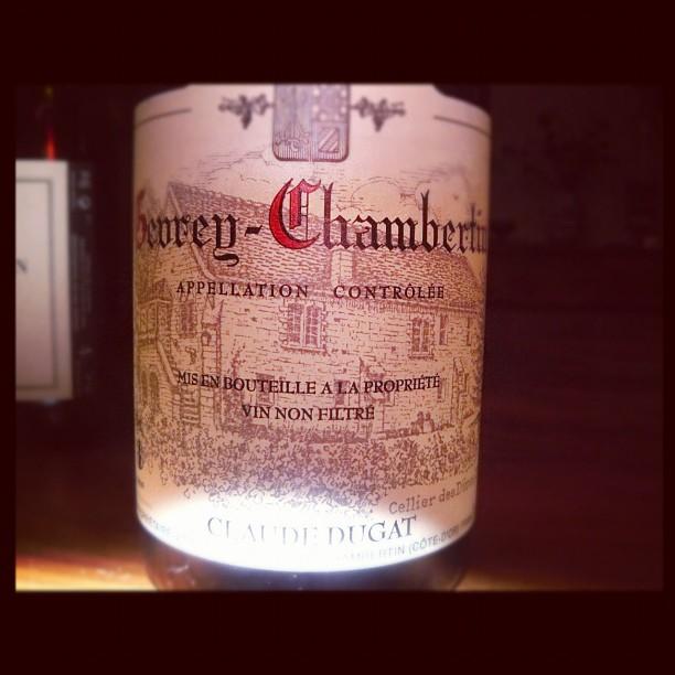 Blog vin - Domaine Claude Dugat - 2008 - Gevrey Chambertin - Bourgogne