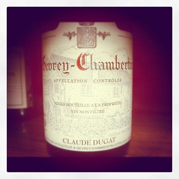 Blog vin - Domaine Claude Dugat - 2009 - Gevrey Chambertin - Bourgogne