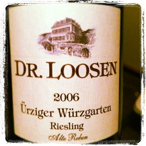 Dr Loosen – Urziger Wurzgarten – 2006 – Moselle – Allemagne