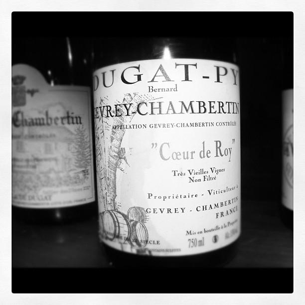Blog vin - Domaine Dugat Py - Coeur de Roy- 2007 - Gevrey Chambertin - Bourgogne