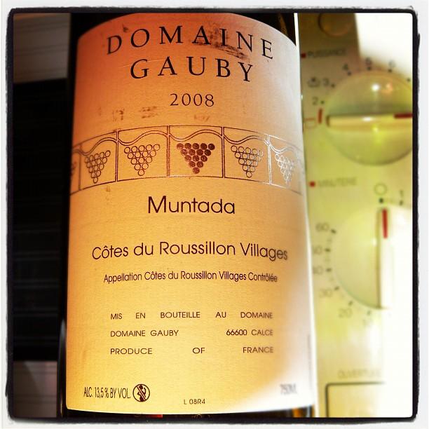 Blog vin - Domaine Gauby - Muntada - 2008 - Côtes du Roussilon Village