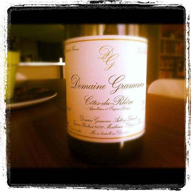 Blog vin - Domaine Gramenon - La Sagesse - 2010 - Cotes du Rhone