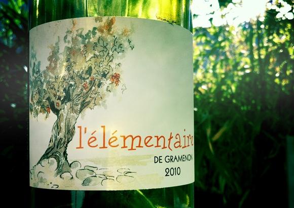 Blog vin - Domaine Gramenon - L'elementaire - 2010 - Cotes du Rhône