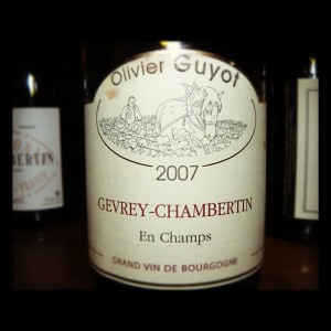 Domaine Guyot – En Champs – 2007 – Gevrey Chambertin Village – Bourgogne – Rouge