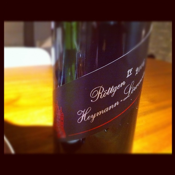 Blog vin - Domaine Heymann Lowestein - Riesling - Rottgen - 2006 - Allemagne