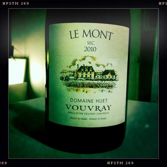 Blog vin - Domaine Huet - Vouvray - sec - Le Mont - 2010