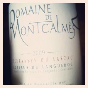 Domaine de Montcalmes – 2009 – Rouge – Coteaux du Languedoc – Terrasses du Larzac