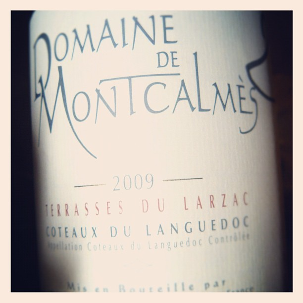 Blog vin - Domaine Montcalmes - 2009 - Terrasses du Larzac - Languedoc