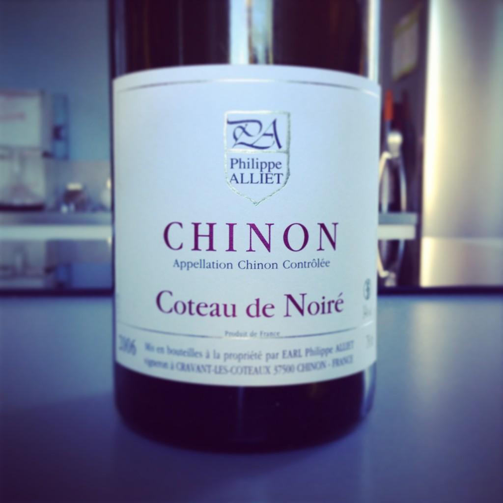 Blog vin - Domaine Philippe Alliet - Coteaux de Noiré - 2006 - Chinon - Loire