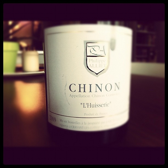 Blog vin - Domaine Philippe Alliet - Huisserie - 2009 - Chinon