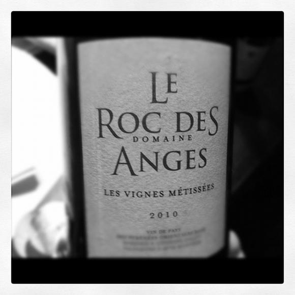 Blog vin - Domaine Roc Des Anges - Les Vignes Métissées - 2010 - Roussillon