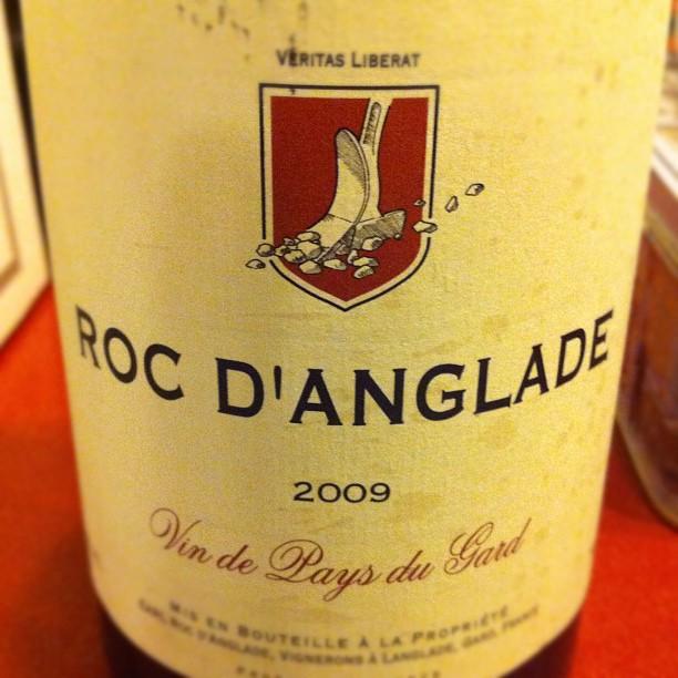 Blog vin - Domaine Roc d'Anglade - 2009 - VDP du Gard