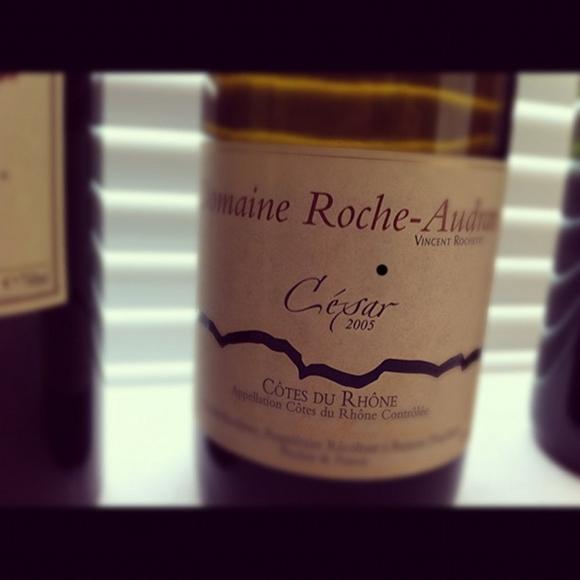 Blog vin - Domaine Roche Audran - Cesar - 2005 - Côtes du Rhône