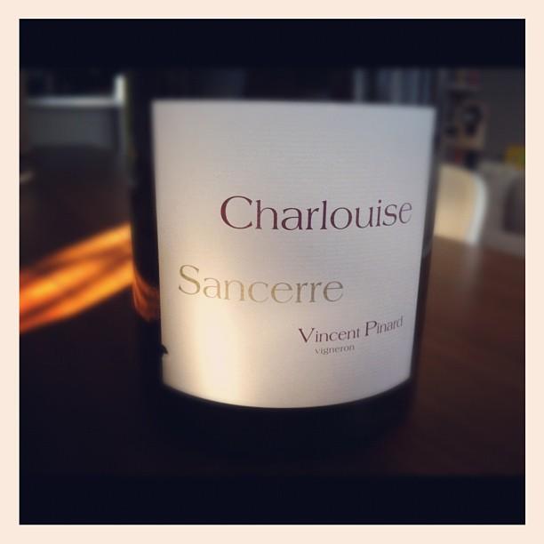Blog vin - Domaine Vincent Pinard - Sancerre - Rouge - Charlouise - 2009