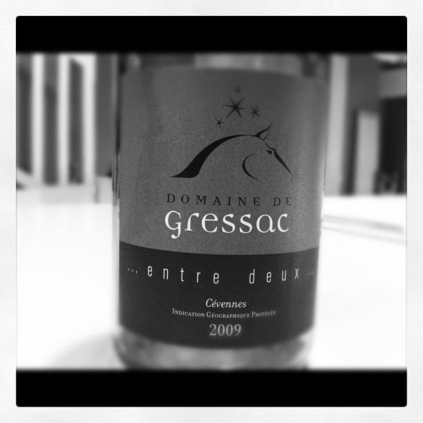 Blog vin - Domaine de Gressac - Entre Deux - 2009 - Cévennes