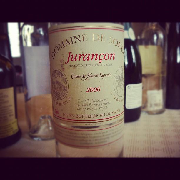 Blog vin - Domaine de Souch - Marie Kattalin - 2006 - Jurançon