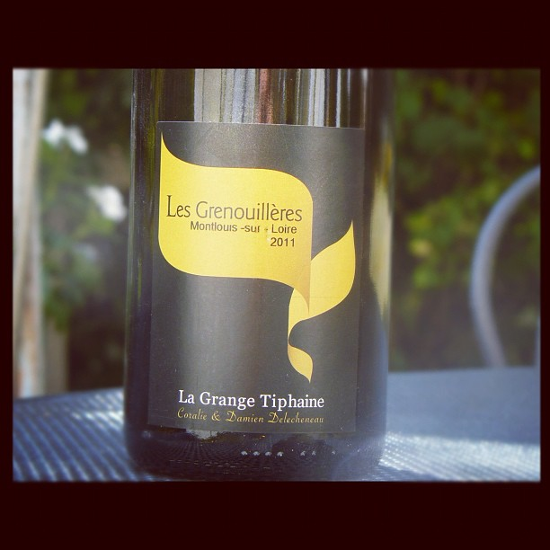 Blog vin - Domaine de la Grange Tiphaine - Grenouillères - 2011 - Montlouis - Loire