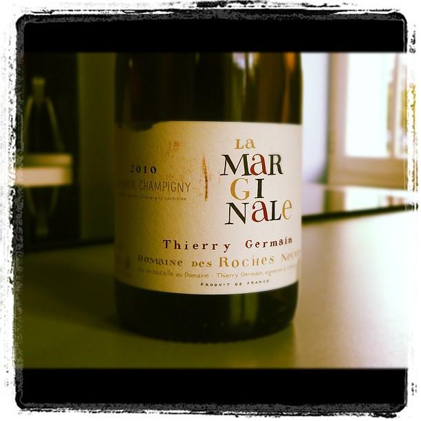Blog vin - Domaine des Roches Neuves - Thierry Germain - Marginale - 2010 - Saumur Champigny