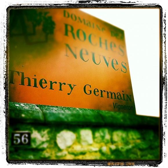 Blog vin - Domaine des Roches Neuves - Visite du Domaine - Panneau entrée