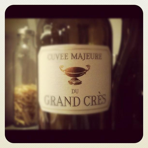 Blog vin - Domaine du Grand Crès - Cuvée majeure - 2008 - Corbières